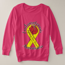 ENDOMETRIOSIS AWARENESS Plus-Size V-Neck T-Shirt