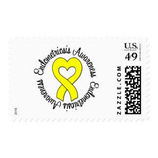 Endometriosis Awareness Postage