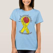 ENDOMETRIOSIS AWARENESS Spiral Tie-Dye T-Shirt