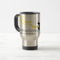 Endometriosis Awareness Travel/Commuter Mug