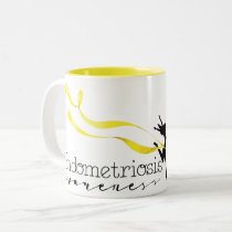 Endometriosis Awareness Two-Tone Mug