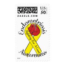 ENDOMETRIOSIS AWARNESS $0.49 Stamps