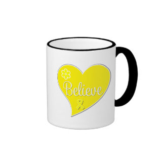 Endometriosis Believe Heart Mug