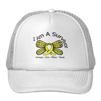 Endometriosis Cancer Butterfly I Am A Survivor Hats