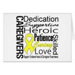 Endometriosis Caregivers Collage Card