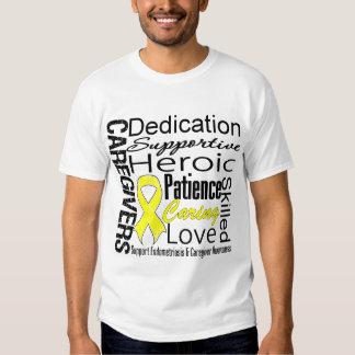 Endometriosis Caregivers Collage T-shirt