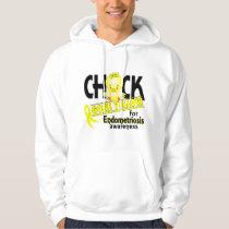 Endometriosis Chick Gone Yellow 2 Hoodie