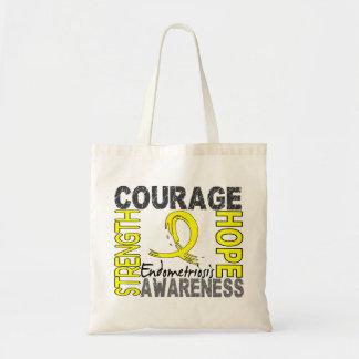 Endometriosis de la esperanza del valor de la fuer bolsa tela barata