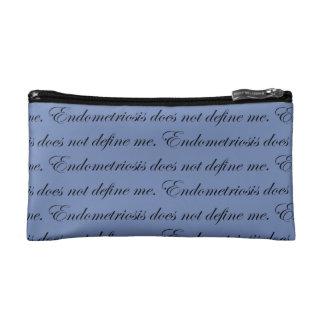 Endometriosis does not define me cosmetic bag