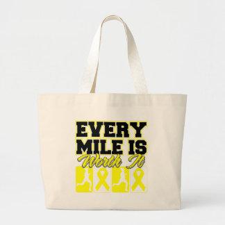 Endometriosis Every Mile is Worth It Bags