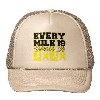 Endometriosis Every Mile is Worth It Trucker Hat