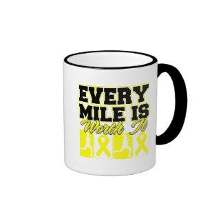 Endometriosis Every Mile is Worth It Coffee Mug