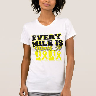 Endometriosis Every Mile is Worth It Tshirt