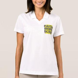 Endometriosis Faith Hope Love Tshirts