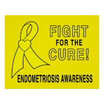 Endometriosis: Fight for the Cure! Poster
