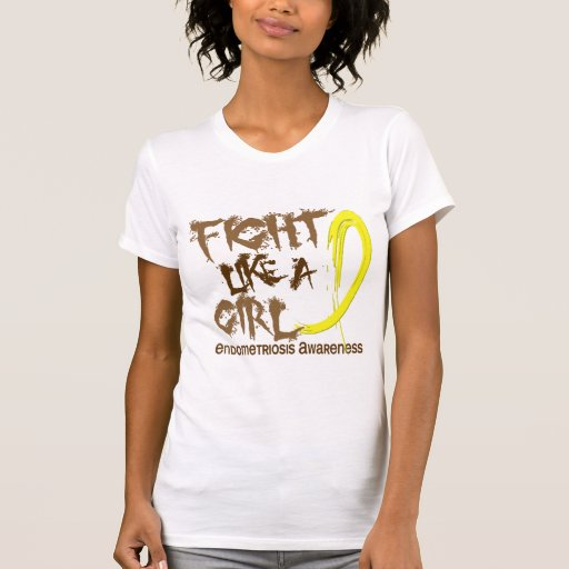 Endometriosis Fight Like A Girl 5.3 Tanktops