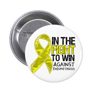 Endometriosis - Fight To Win 2 Inch Round Button