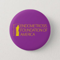 Endometriosis Foundation of America Button