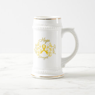 Endometriosis Hope Motto Butterfly Coffee Mug