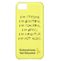 Endometriosis:  I Am iPhone Cover