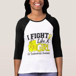 Endometriosis I Fight Like A Girl 15 5 T-shirt