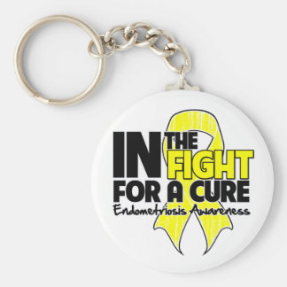 Endometriosis In The Fight For a Cure Keychain