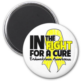 Endometriosis In The Fight For a Cure Refrigerator Magnet