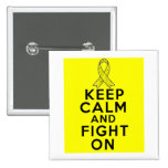Endometriosis Keep Calm and Fight On Pin