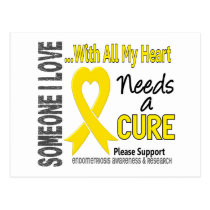 Endometriosis Needs A Cure 3 Postcard