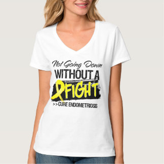 Endometriosis Not Going Down Without a Fight T-Shirt