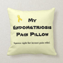Endometriosis:  Pain Pillow