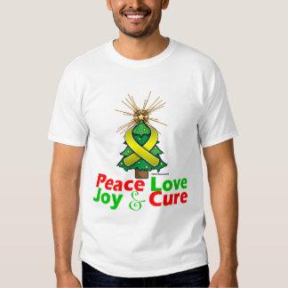 Endometriosis Peace Love Joy Cure T-shirts