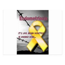 Endometriosis Postcard
