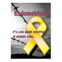 Endometriosis Postcard