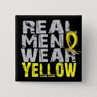 Endometriosis Real Men Wear Yellow Button