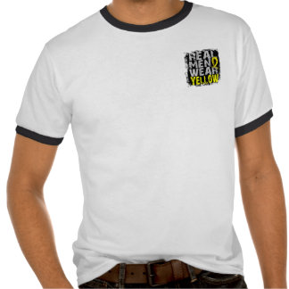 Endometriosis Real Men Wear Yellow T Shirts