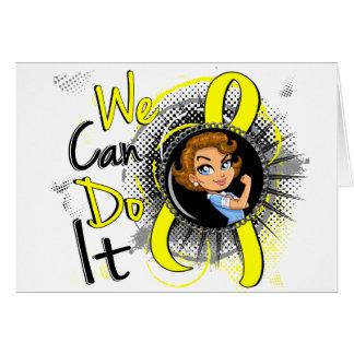 Endometriosis Rosie Cartoon WCDI.png Greeting Card