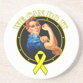 Endometriosis - Rosie el remachador - podemos hace Posavasos Diseño