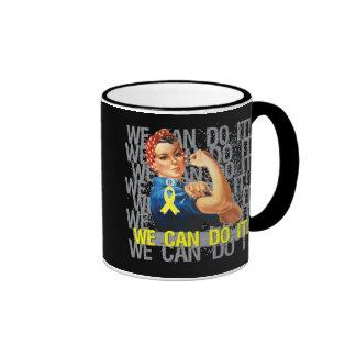 Endometriosis Rosie WE CAN DO IT Ringer Coffee Mug