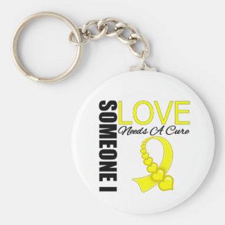 Endometriosis Someone I Love Needs A Cure Keychain