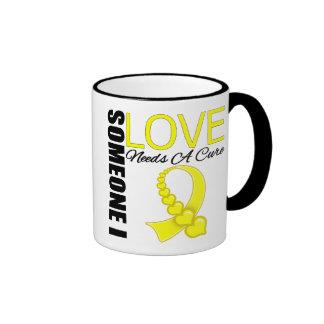 Endometriosis Someone I Love Needs A Cure Ringer Coffee Mug