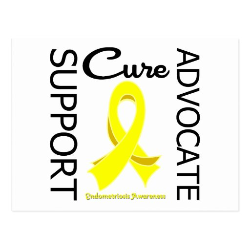 Endometriosis Support Advocate Cure Post Cards