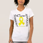 Endometriosis Support Advocate Cure T-shirts
