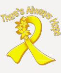 Endometriosis There's Always Hope Floral Tshirts