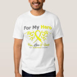 Endometriosis Tribal Ribbon Hero T-shirt