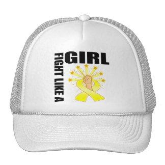 Endometriosis Victory Fight Like A Girl Trucker Hat
