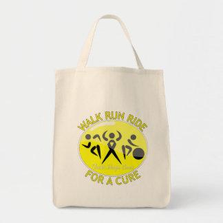 Endometriosis Walk Run Ride For A Cure Tote Bag