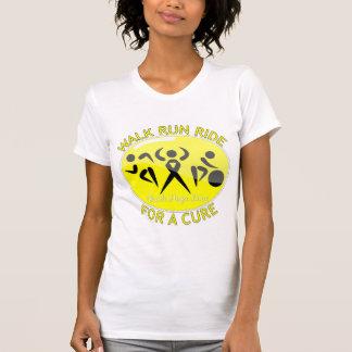 Endometriosis Walk Run Ride For A Cure Tee Shirts