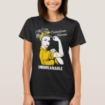 Endometriosis Warrior Unbreakable T-Shirt