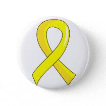 Endometriosis Yellow Ribbon 3 Button